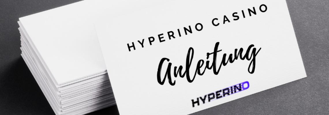 Hyperino Mobile Casino Anleitung
